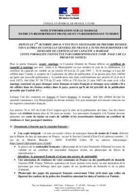 bureau de mariage en tunisie listes des fichiers pdf demande de transcription d acte de mariage tunisie pdf notice