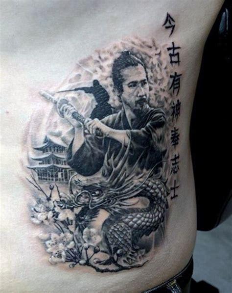 samurai warrior tattoo designs