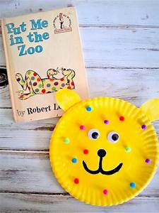 Put, Me, In, The, Zoo, Paper, Plate, Craft