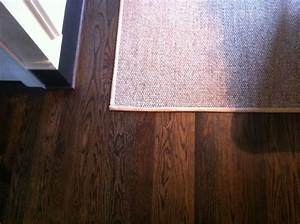 Custom Stain Blend Oak Floor of Special walnut/jacobean on ...