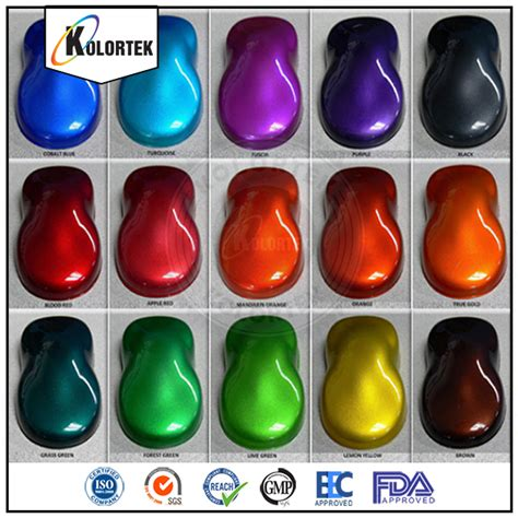 factory price car candy paint powder coating pigmentcar