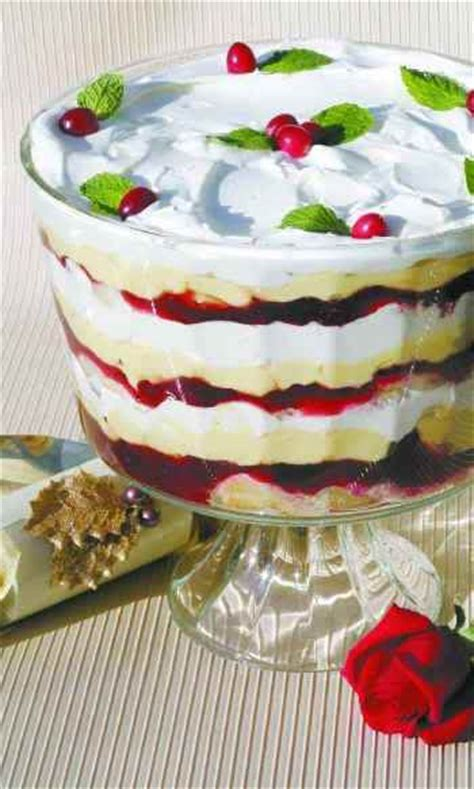 easy christmas desserts recipes with pictures christmas trifle recipe dishmaps