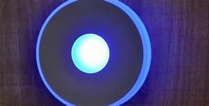 Led Lampe Rund : led lampe rund blau typ deckenstrahler bl mer holzhandlung ~ Frokenaadalensverden.com Haus und Dekorationen