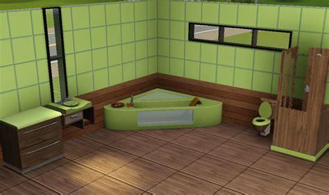 carrelage salle de bain bambou sims3 baraquesasims les salles de bain