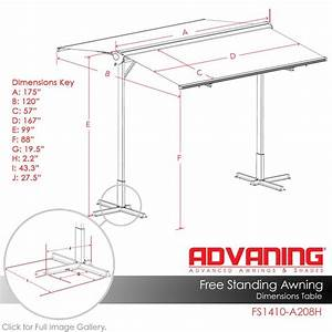 Advaning Fs Series14 W X 10 Projection Manual Retracting