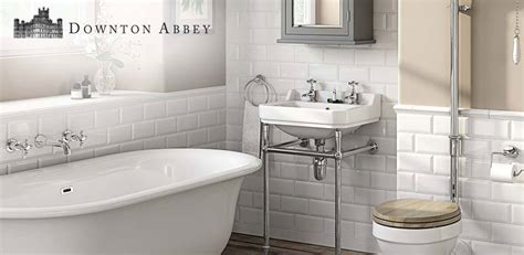 coming  victorian plumbing downton abbey bathrooms
