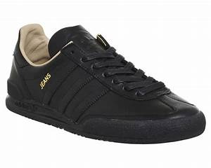 Adidas Jeans Mkii Black Mono - His trainers
