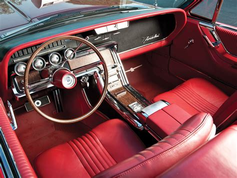 interior  ford thunderbird convertible