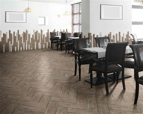 sol pour chambre carrelage retro imitation parquet vintage style chevron