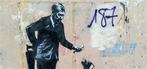 Banksy Street Art Paris