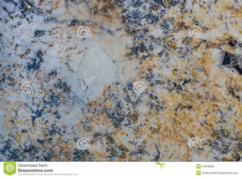 blue gold and white granite stock photo image 37818228