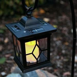 Laterne Garten Kerze : led laterne mit solar kerze flackernd 58cm hoch ~ Lizthompson.info Haus und Dekorationen