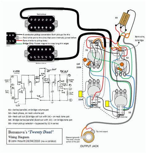Les Paul Jimmy Page Wiring With Sounds Guitarnutz