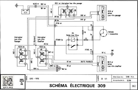 Peugeot 505 Wiring Diagram by 405 Auto Lift Windows 405 Technical Resources How To