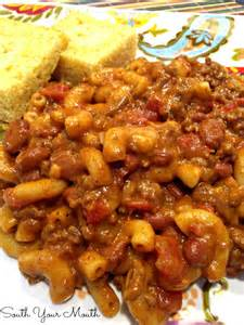 Chili Mac and Cheese with Ground Beef Recipes