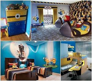 10 cute and cool minions kids room ideas With cool room ideas for kids