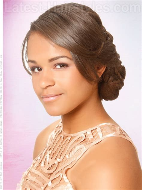 black girls prom hairstyles