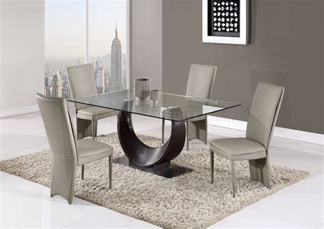 ddt dining table  wenge  global woptional taupe chairs