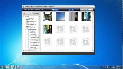 wie kann man fotosbilder vom ipad auf pc uebertragen
