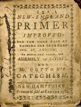 shays rebellion printed material   england primer