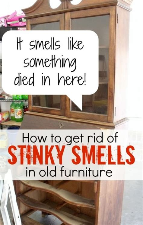 how to get gross smells out of furniture