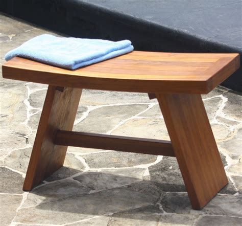 shower bench teak add a zen touch to your shower with an asian shower stool