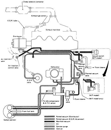 Nissan Sentra Vacuum Diagram Cabuator Auto
