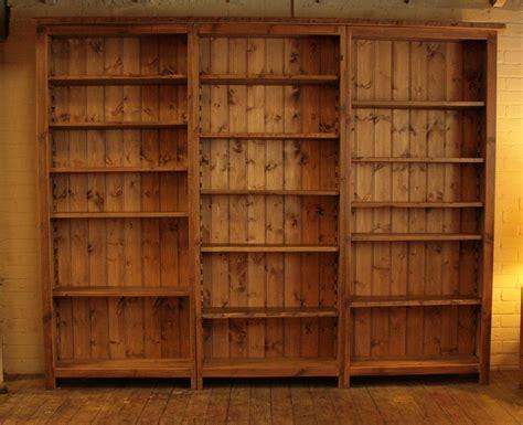 9 Ft Bookshelves by Original Bookcase Vintage Reclaimed Furniture