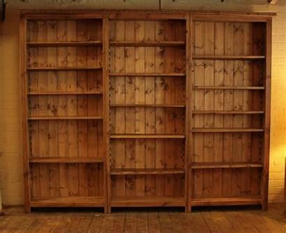 Bookshelf Empty Bookcase Desktop Wide Shelves Desk
