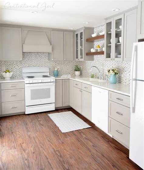 aga cuisine gray white kitchen remodel centsational