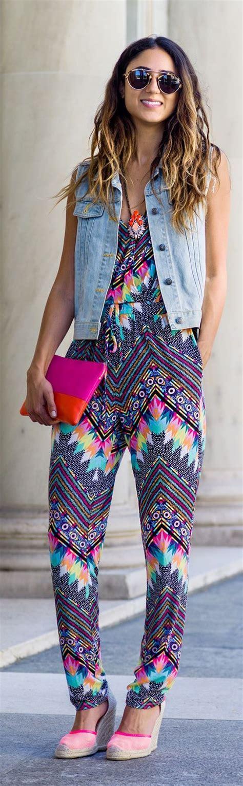 boho jumpsuit mara hoffman multicolored geometric print strappy jumpsuit
