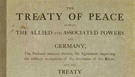 Rate A Historians Description Of The Treaty Of Versailles