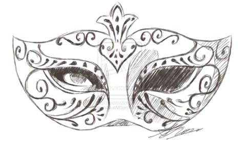mask sketch tattoo inspiration   mask drawing