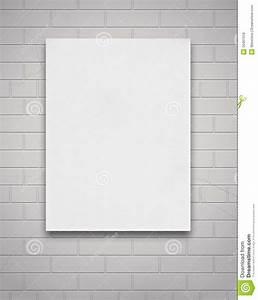 Toile De Mur : toile blanche sur le mur photo stock image du contexte 30461918 ~ Teatrodelosmanantiales.com Idées de Décoration