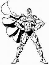 Superman Coloring Pages Printable Cool sketch template