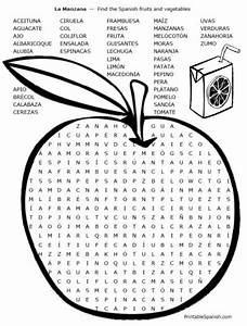18 Best Spanish Word Searches Images On Pinterest