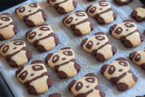 adorable cookie recipes panda cookies melt our hearts photo 3316