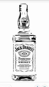 Drawing Bottle Holders Whiskey Jack sketch template