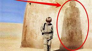 The shadow of Vader behind Rey in The Force Awakens?