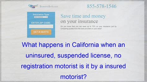 What certifies a health insurance agent? What happens in California when an uninsured, suspended license, no registration motorist is it ...