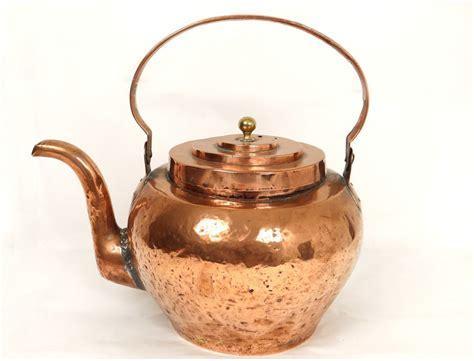 Bouilloire cuivre antique french kitchen copper XVIIIème