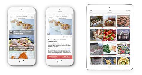 application de cuisine 123 mobile agence mobile réalisation applications ios