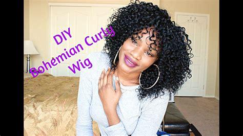 Bohemian Curls Hairstyles