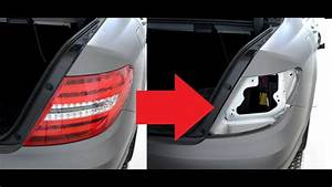 How To Change Brake Light Bulb Mercedes C Class