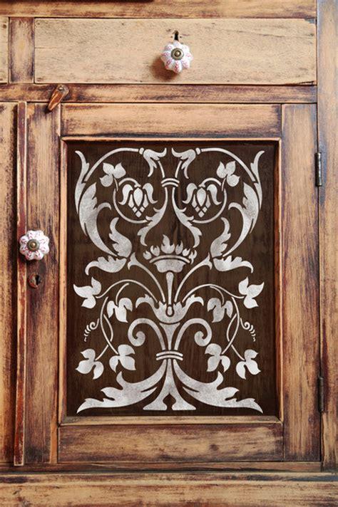 kitchen cabinet stencils firenze classic panel stencil mediterranean wall 2784