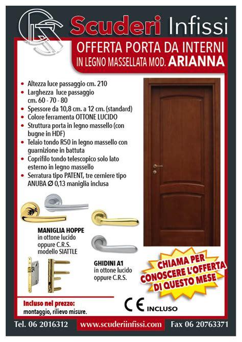 Offerte Porte Per Interni - offerte porte interne roma scuderi infissi