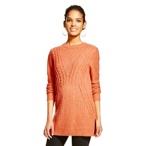 sweaters target 39 s cable tunic sweater mossimo target