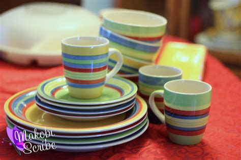 colorful dishes add color to your table with festive dinnerware sets