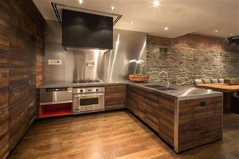 Updating Kitchen Ideas - wood paneling ideas gorgeous kitchen wood pallet wall