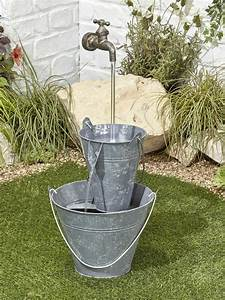 Floating, Tap, Easy, Fountain, Garden, Water, Feature